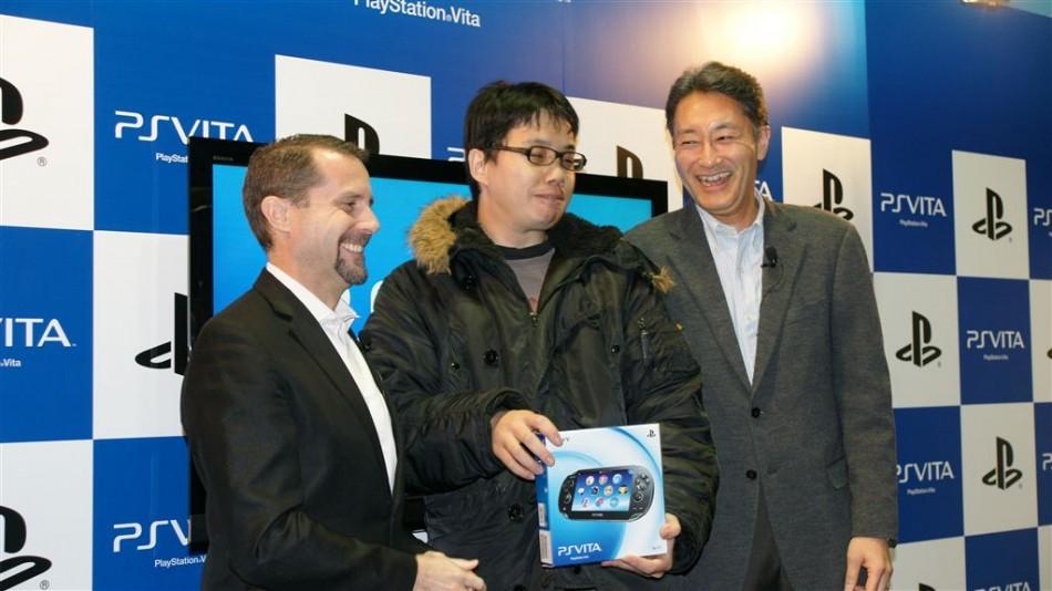 PS Vita Japan launch