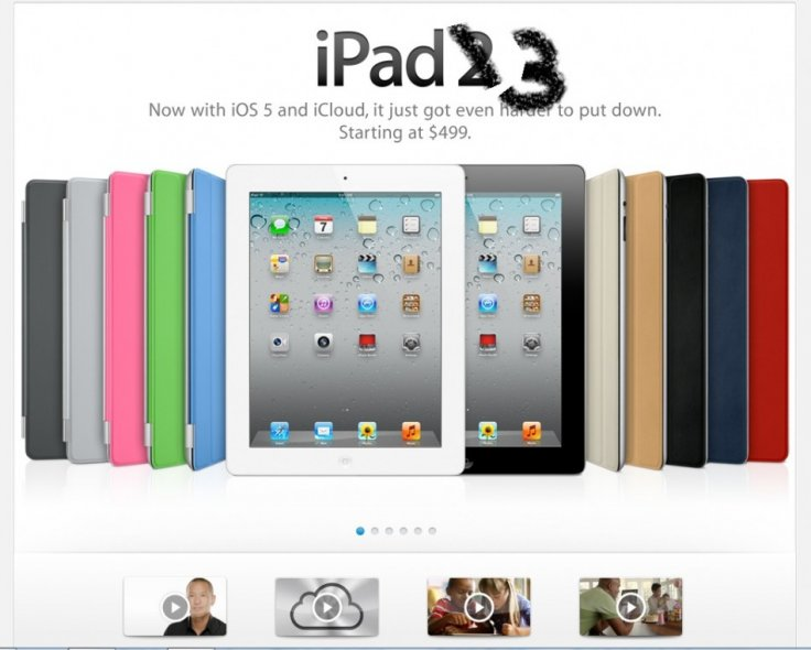 Apple iPad 3 to Get Better Cameras, Minor Redesign and 'iPad