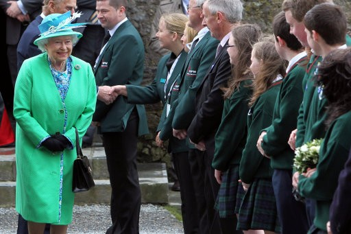 Queen Elizabeth II at Ireland