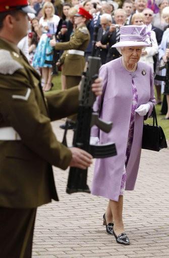 Queen Elizabeth II at Lichfield Cathedral