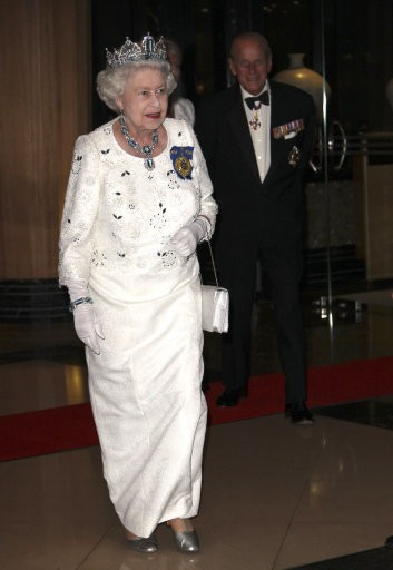 Queen Elizabeth II at Australia