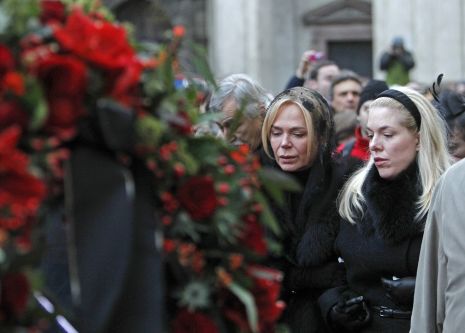 Vaclav Havel Coffin