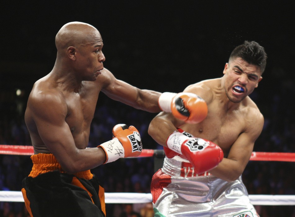 Victor Ortiz and Lloyd Mayweather