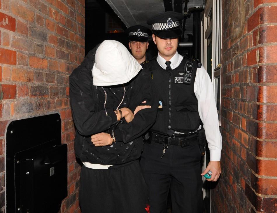 UK Riot Arrests