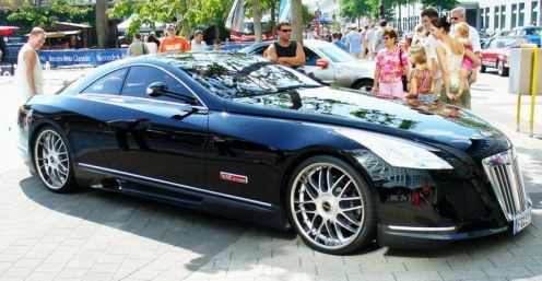 The Maybach Exelero Sports Coupe