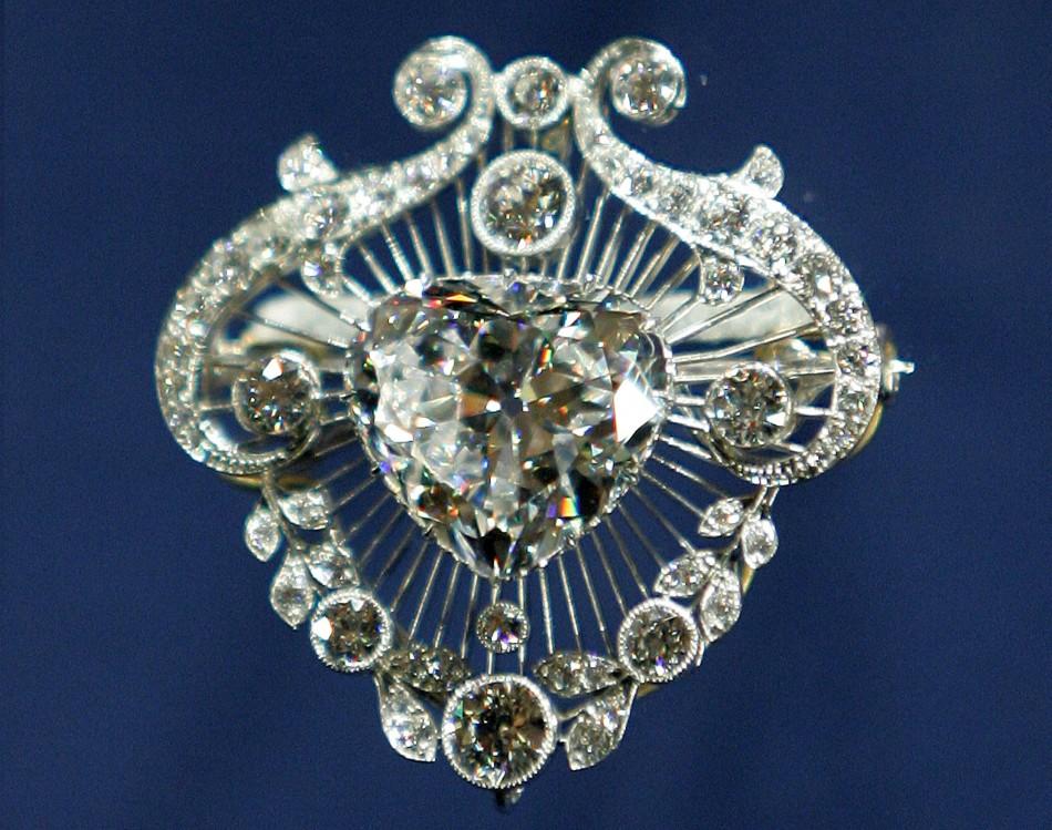 Cullinan diamond brooch
