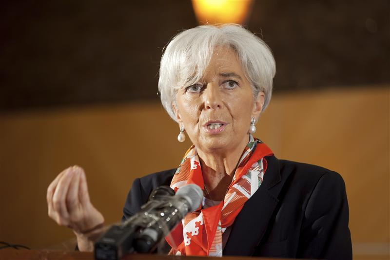 International Monetary Fund's Managing Director Christine Lagarde