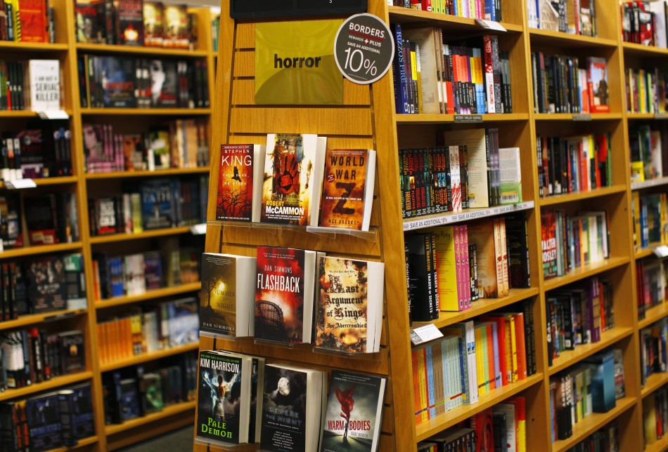 A Borders book store is shown in San Diego