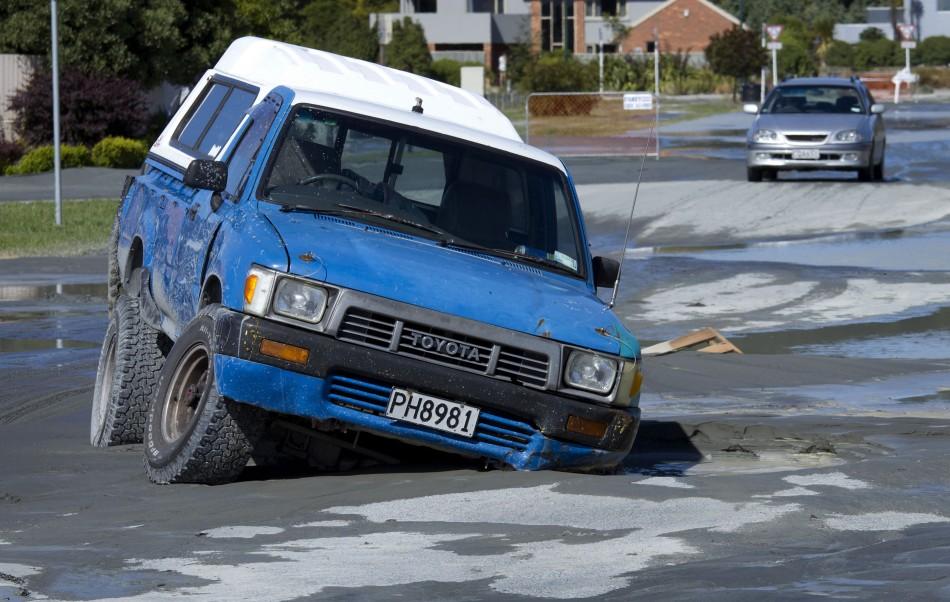 Earthquake Christchurch 23 Dec 2011