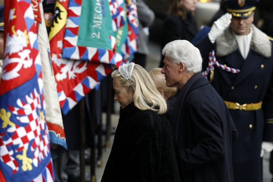 Vaclav Havel Funeral