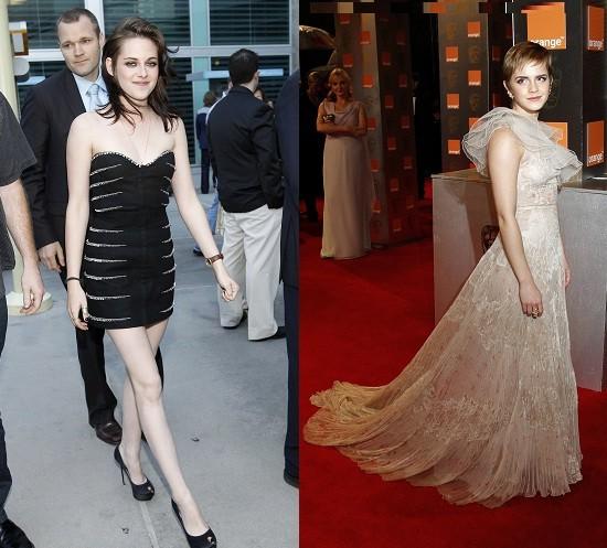 Emma Watson and Kristen Watson