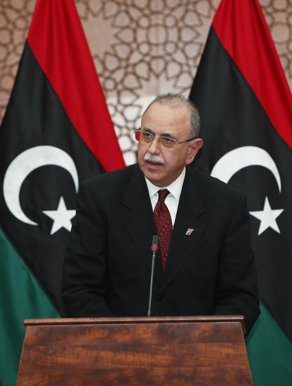 Prime Minister Abdurrahim El-Keib
