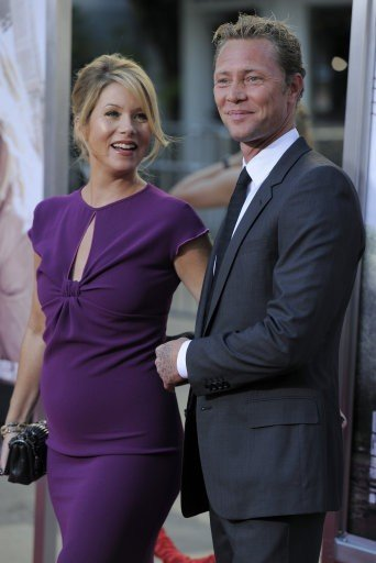 Christina Applegate and fianc Martyn Lenoble