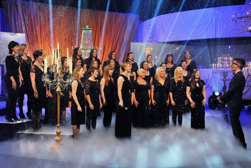 Military Wives Choir Performing
