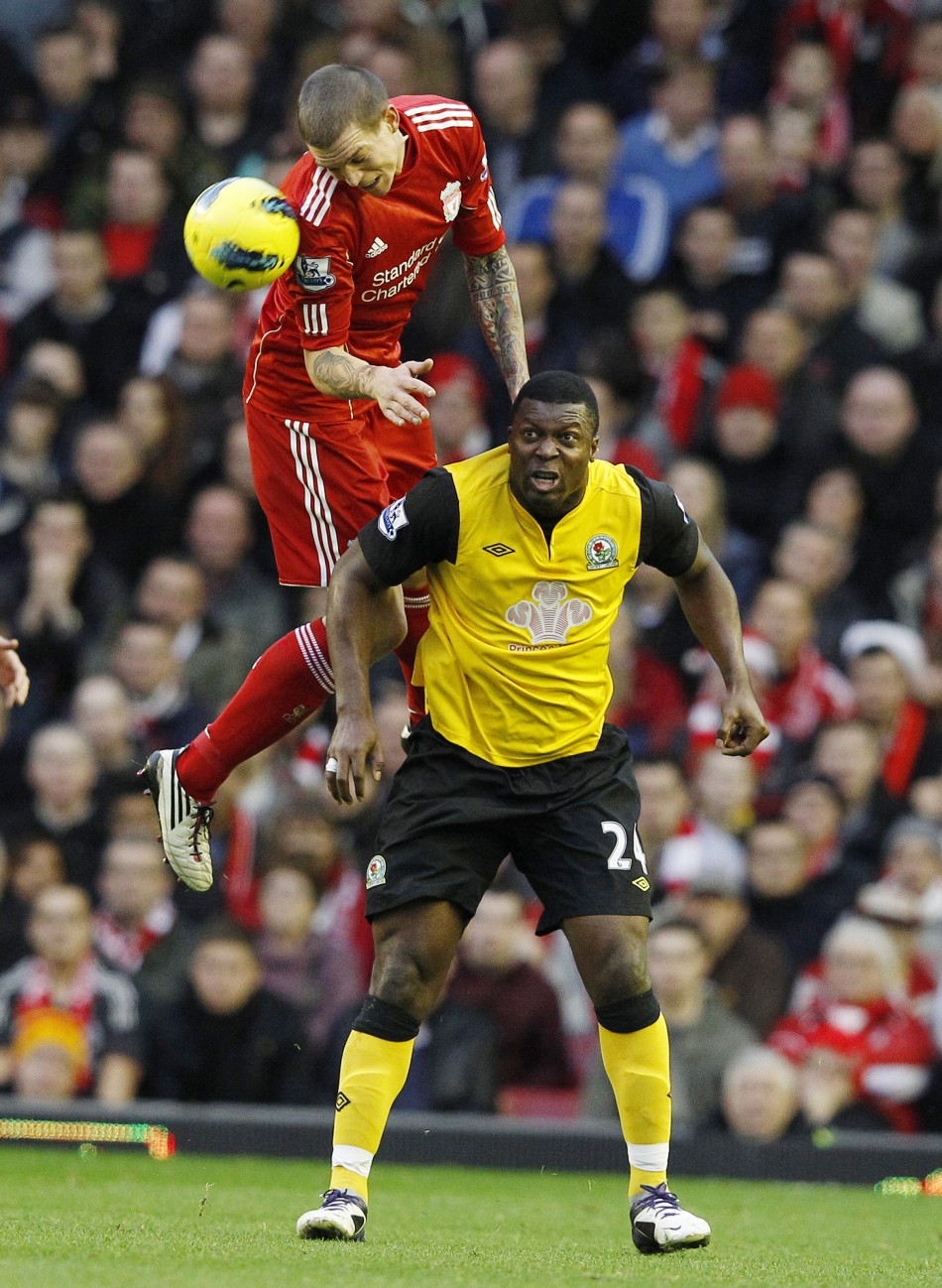Liverpool-Blackburn Rovers