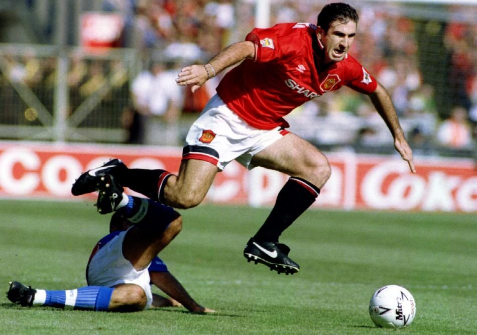 Manchester United's Eric Cantona