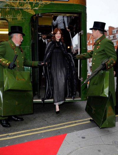Florence Welch Dons Luxury Chanel Ensemble at Harrods Live Performance