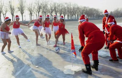Soccer Santa