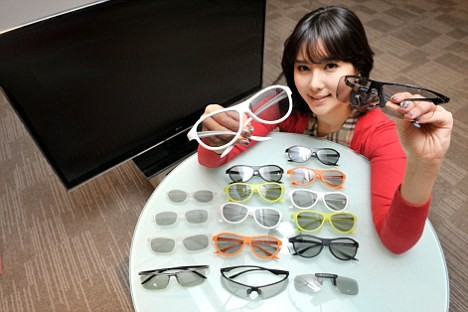 LG Ultra-Light 3D glasses