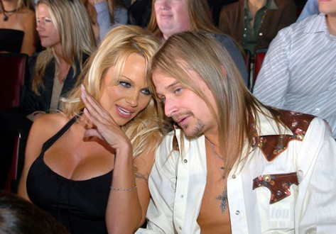Pamela Anderson and Kid Rock