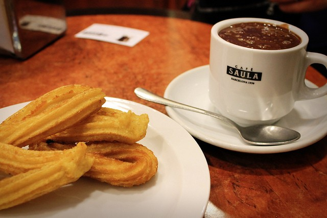 Churros credit Flickr/sincerelyhiten