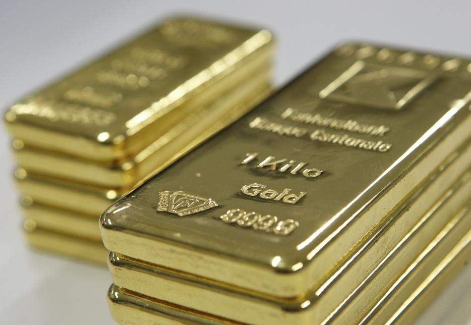 Gold Visualized In Bullion Bars
