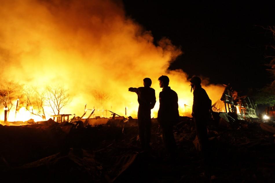 Myanmar blast