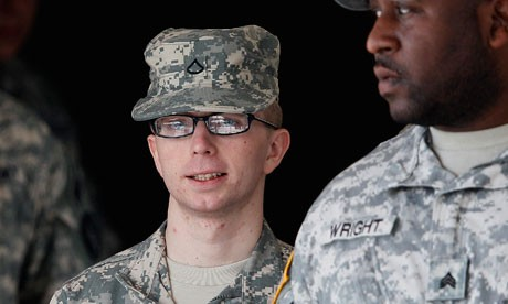 Bradley Manning - the U.S. army private