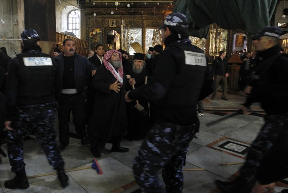 Priests Brawl in Bethlehem