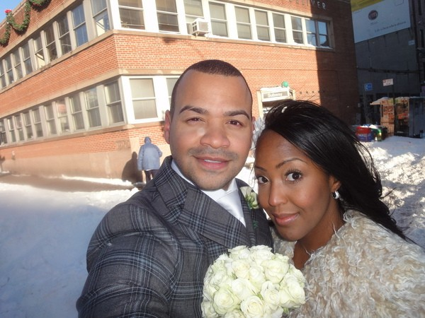 Angellica Bell and Michael Underwood
