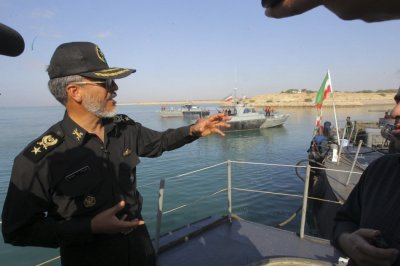 Iran Navy Drill