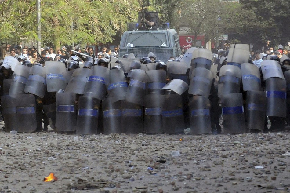 Egyptian security forces storm NGO offices