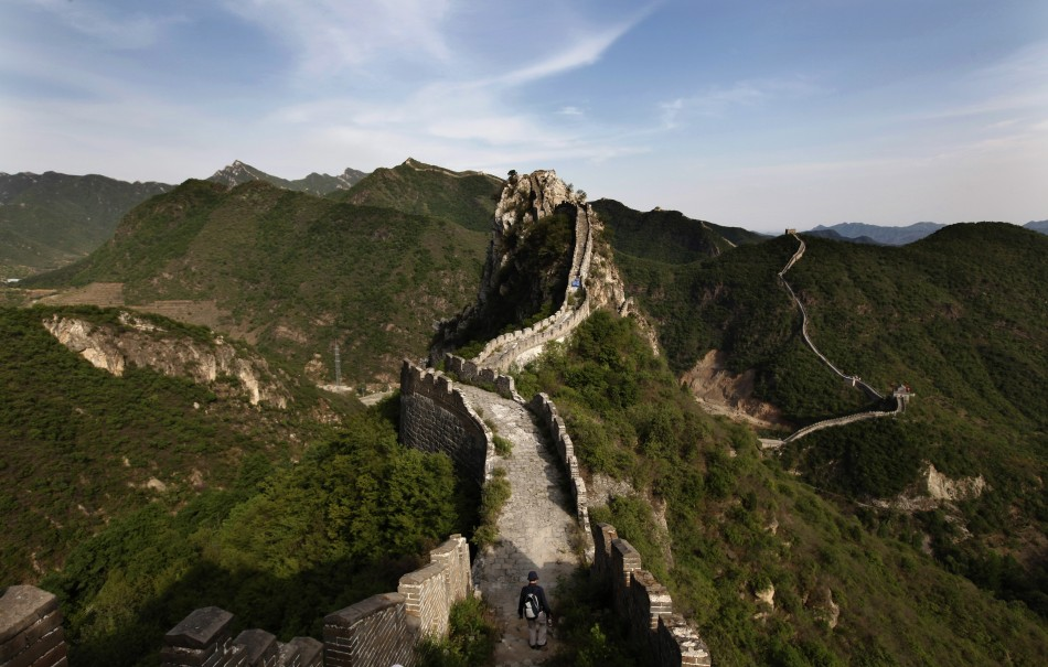 The Great Wall, in Huairou District
