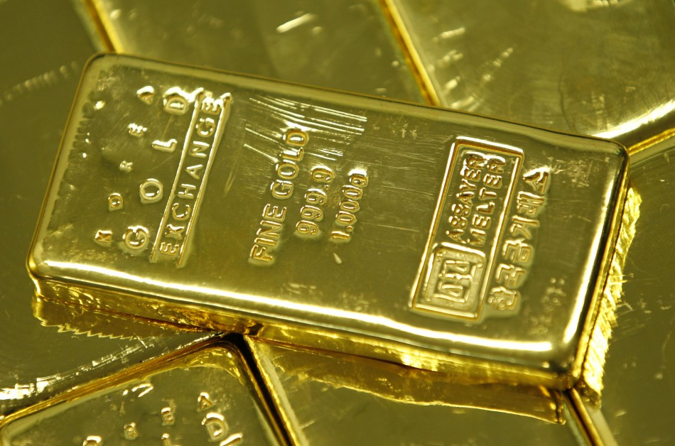 Gold bars in India