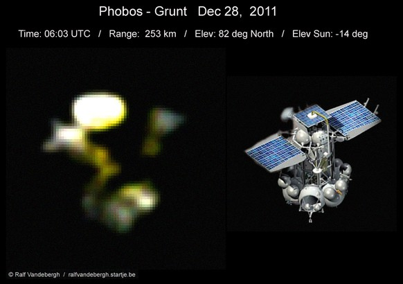 Phobos Grunt Dec. 28, 2011