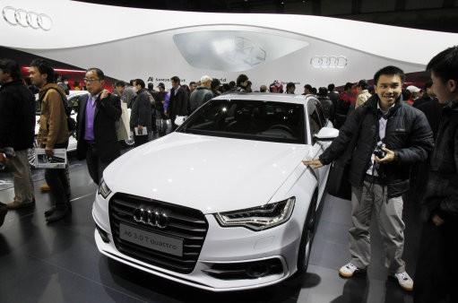 Audi A6 model