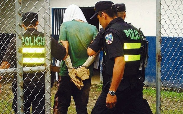 Alfred Saunders is arrested. Pic: Reuters