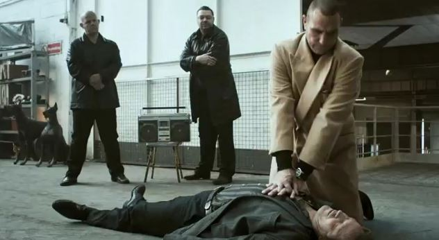 Vinnie Jones in CPR tv advertisement