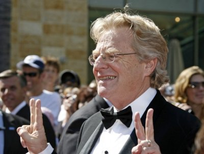 Television personality Jerry Springer arrives at the 34th annual Daytime Emmy Awards in Hollywood