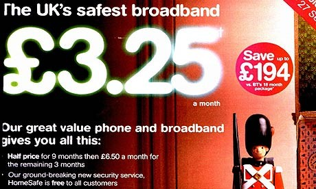 TalkTalk HomeSafe security ad campaign