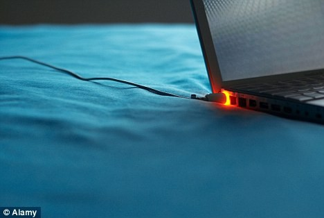 Overcharging laptop