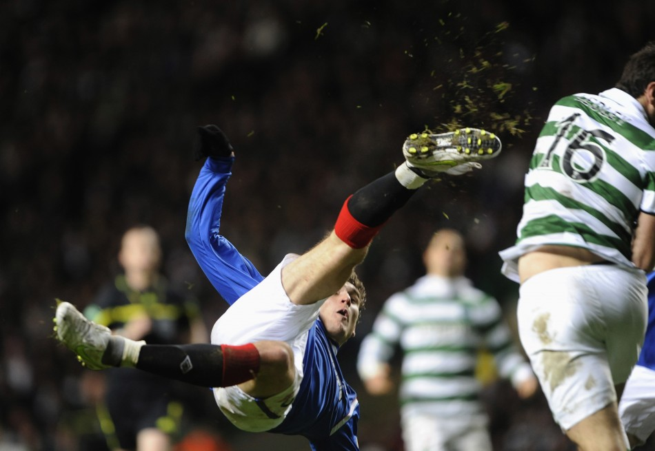 Rangers' Nikica Jelavic is a reported target of Liverpool