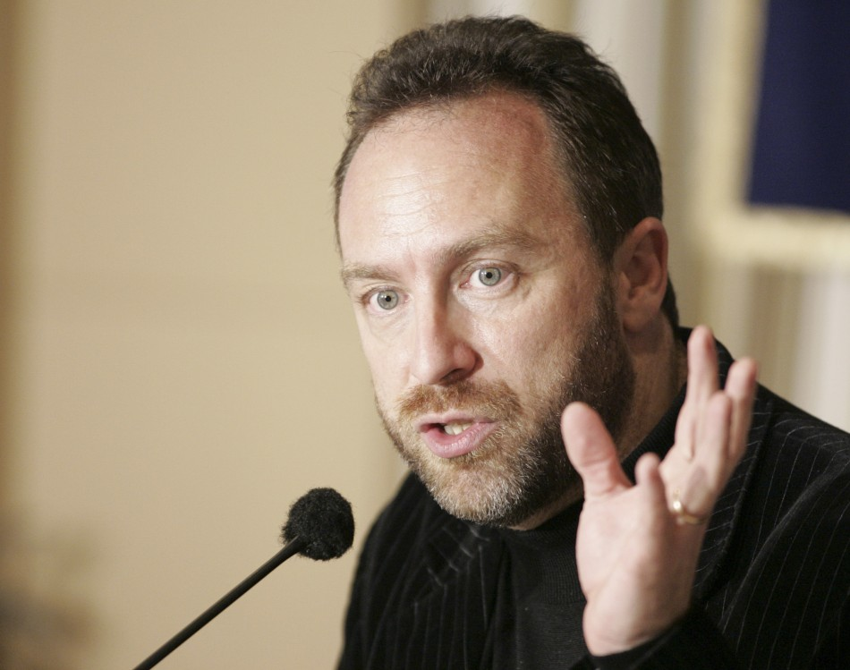Jimmy Wales of Wikipedia
