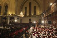 Coptic Christians Attend Christmas Eve Mass