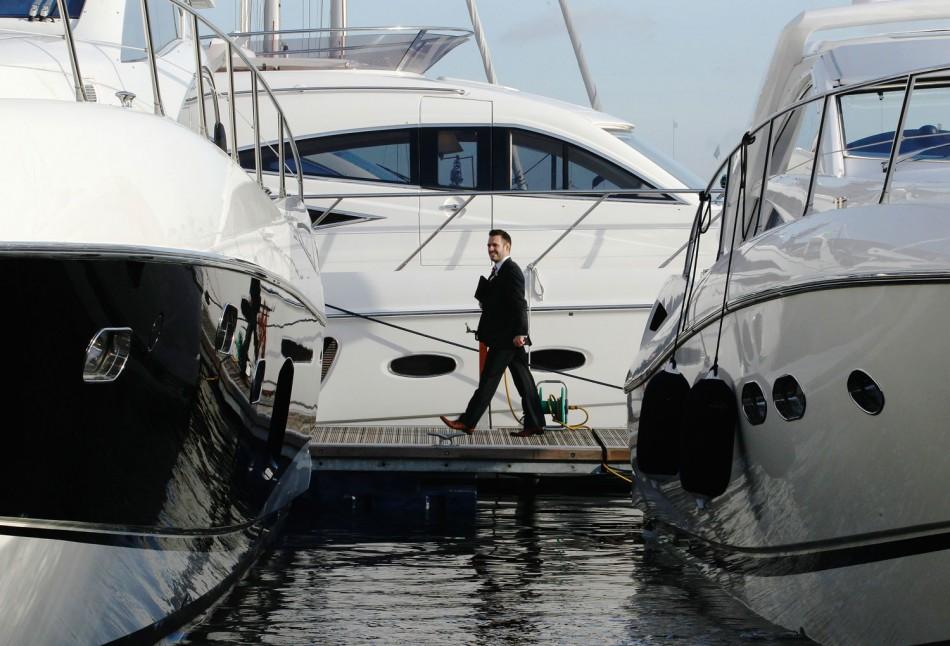 Socialite Tamara Ecclestone Glams Up 2012 London Boat Show Opening