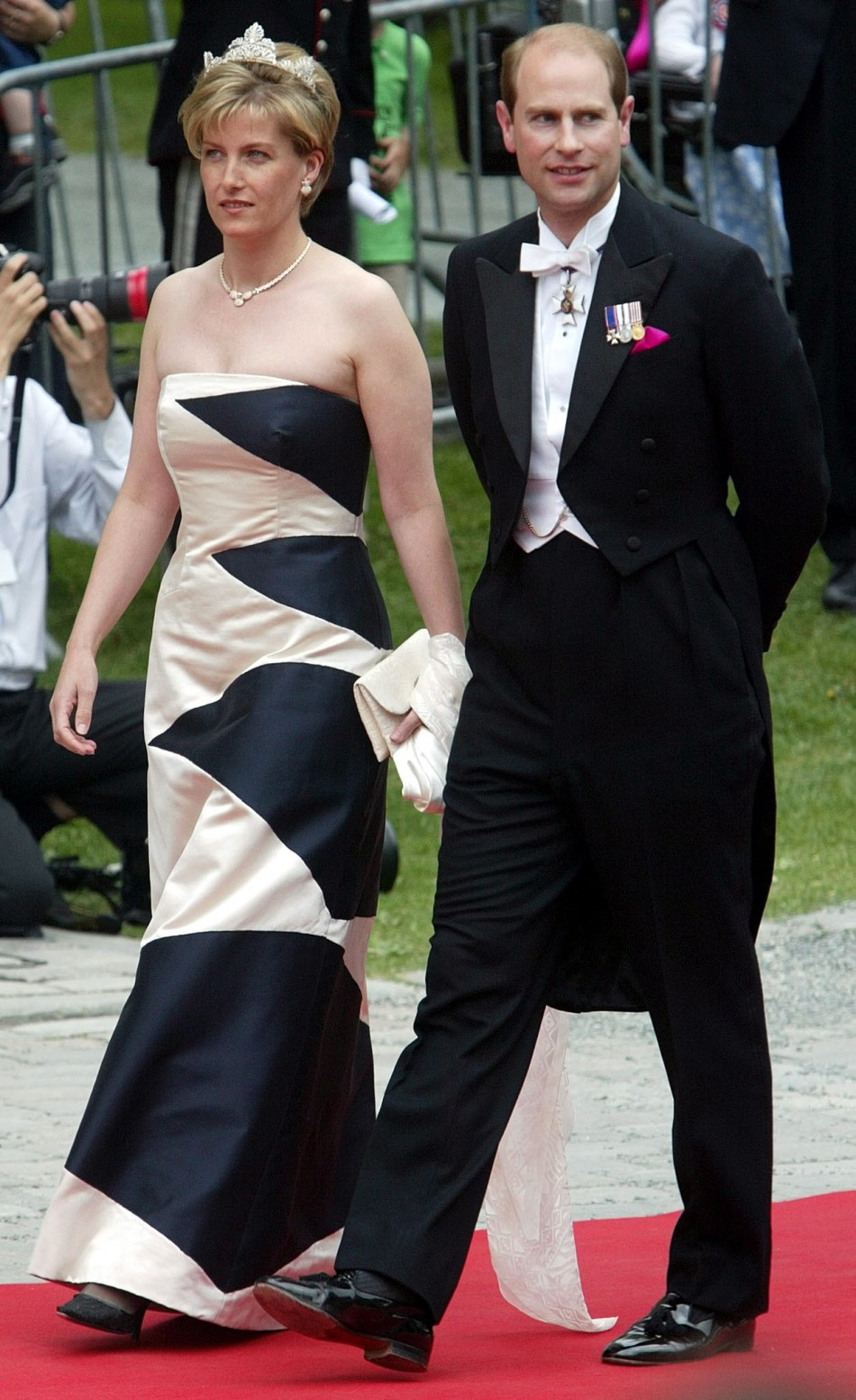 Prince Edward and his wife Sophie, the Countess of Wessex
