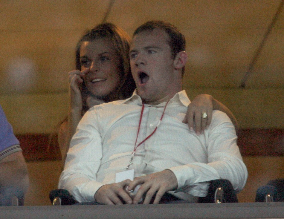 Wayne Rooney and Coleen