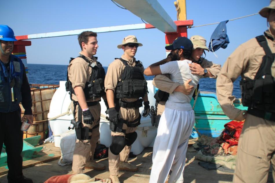 U.S. Navy Rescues Iranian Fishermen