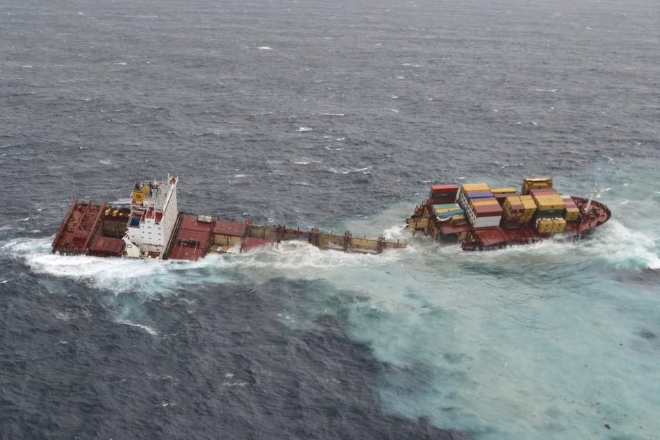 New Zealand shipwreck