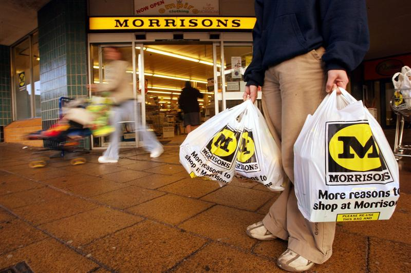 Morrisons Shares Surge 5% on Founder Family Buyout Interest